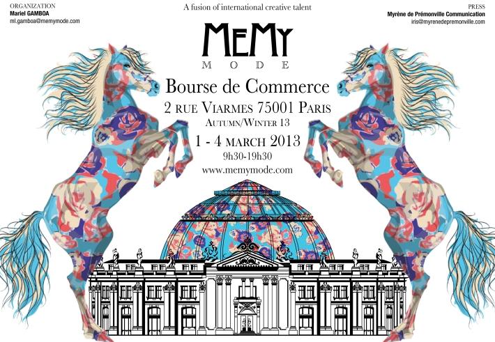 MeMy Mode Paris Fashion Week
